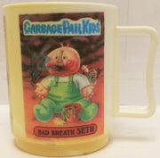 (TAS005514) - 1986 Topps Vintage Garbage Pail Kids Plastic Cup - Live Mike, , Drinkware, Wrestling, The Angry Spider Vintage Toys & Collectibles Store  - 3