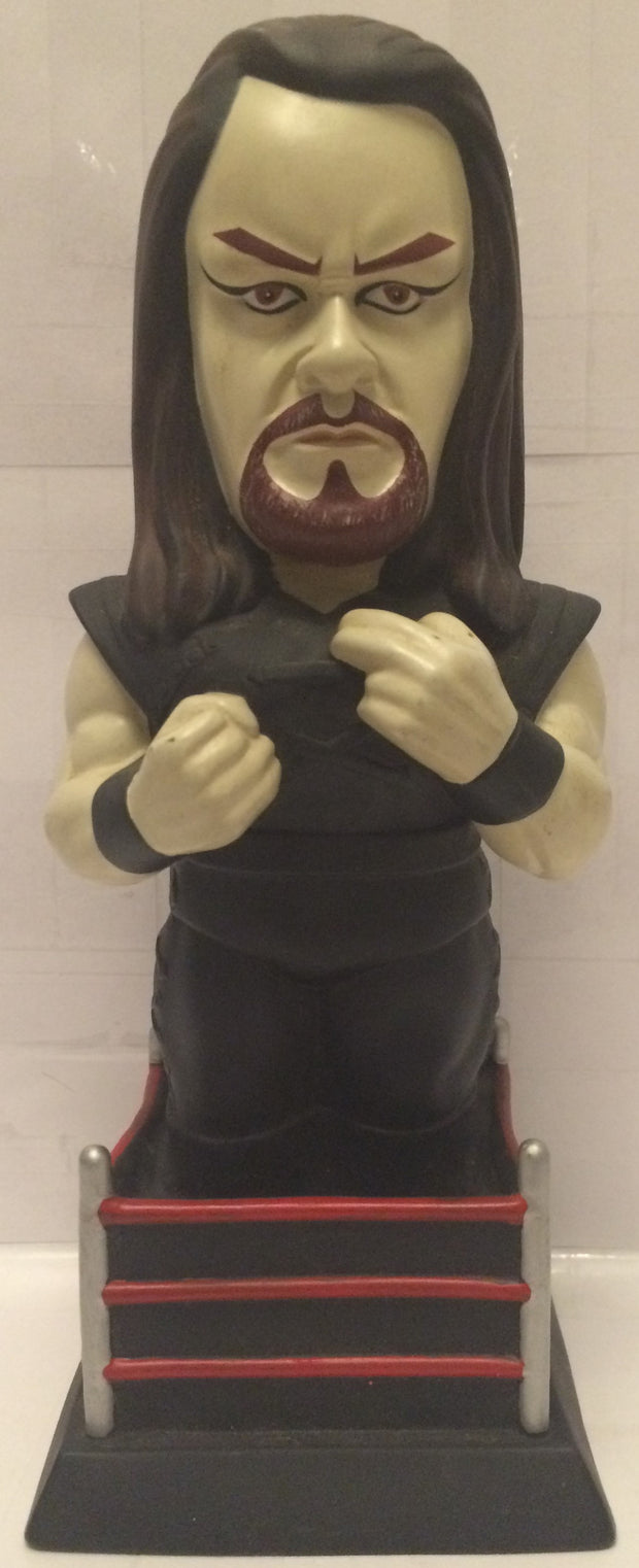 (TAS005515) - 1998 Titan Sports WWF WWE Titan Sports LJN Coin Bank - Undertaker, , Coin Bank, Wrestling, The Angry Spider Vintage Toys & Collectibles Store  - 1