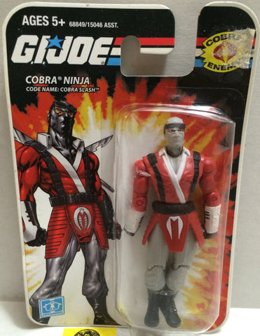 (TAS005520) - 2008 Hasbro Mini G.I. Joe Action Figure - Cobra Ninja Cobra Slash, , Action Figure, G.I. Joe, The Angry Spider Vintage Toys & Collectibles Store