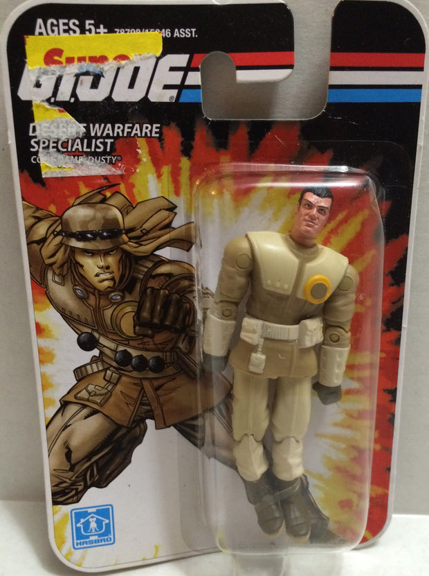 (TAS005521) - 2008 Hasbro Mini G.I. Joe - Desert Warfare Specialist Dusty, , Action Figure, G.I. Joe, The Angry Spider Vintage Toys & Collectibles Store