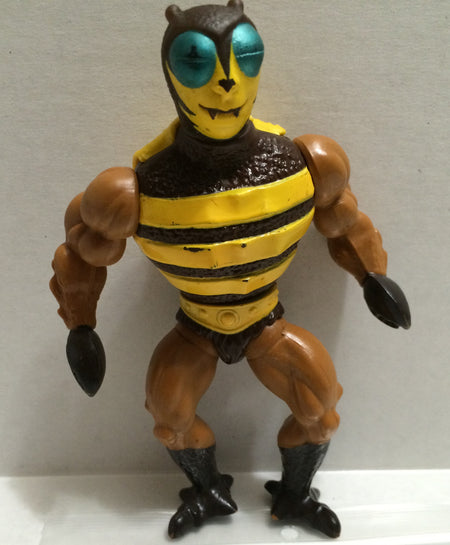 TAS037381 - Vintage Action Figure - MOTU Buzz 1984