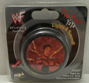 (TAS006452) - 1999 MGA WWF Wrestling Light Up Yo-Yo - The Rock, , Yo-Yo, Wrestling, The Angry Spider Vintage Toys & Collectibles Store
