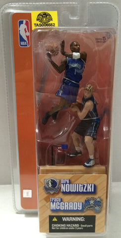 (TAS006552) - 2003 McFarlane Toys NBA McFarlane - Dirk Nowitzki & Tracy McGrady, , Action Figure, NBA, The Angry Spider Vintage Toys & Collectibles Store