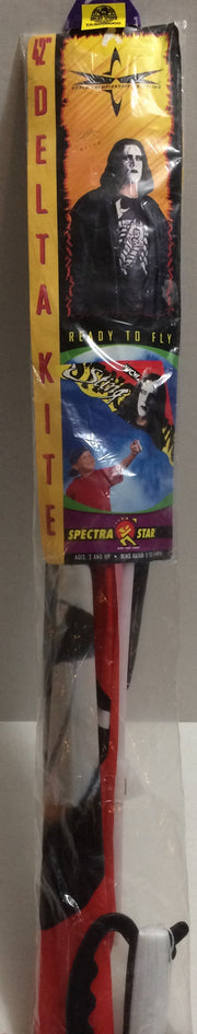 "(TAS008000) - 1999 Toy Biz Spectra Star WCW 42"" Delta Kite - Sting, , Kite, Wrestling, The Angry Spider Vintage Toys & Collectibles Store"