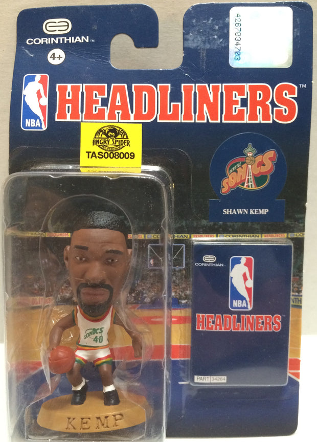 (TAS008009) - Corinthian NBA Headliners Mini Action Figure - Shawn Kemp, , Action Figure, NBA, The Angry Spider Vintage Toys & Collectibles Store