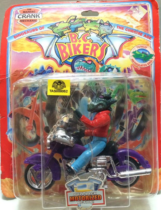 (TAS008052) -  Collectible B.C. Bikers with Motorized Action Figure, , Action Figure, n/a, The Angry Spider Vintage Toys & Collectibles Store  - 1