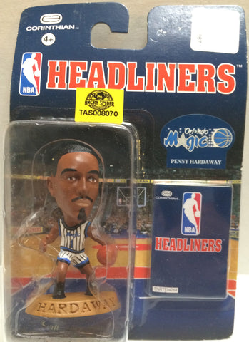 (TAS008070) - NBA Headliners Sports Figure - Penny Hardaway, , Action Figure, NBA, The Angry Spider Vintage Toys & Collectibles Store