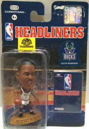 (TAS008085) - Corinthian NBA Headliners Mini Action Figure - Glenn Robinson, , Action Figure, Corinthian, The Angry Spider Vintage Toys & Collectibles Store