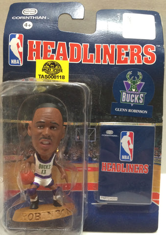 (TAS008118) - Corinthian NBA Headliners Action Figure - Glenn Robinson, , Action Figure, Corinthian, The Angry Spider Vintage Toys & Collectibles Store