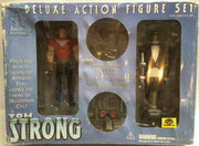 (TAS008120) - 2000 America's Best Comics Tom Strong Deluxe Action Figure Set, , Action Figures, n/a, The Angry Spider Vintage Toys & Collectibles Store