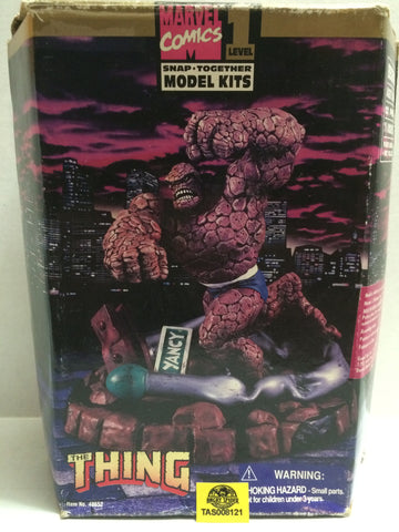 (TAS008121) - 1996 Toy Biz Marvel Level 1 Snap Together Model Kit - The Thing, , Models, Marvel, The Angry Spider Vintage Toys & Collectibles Store