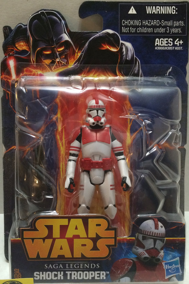 (TAS008126) - Hasbro Star Wars Saga Legends Action Figure - Shock Trooper, , Action Figure, Star Wars, The Angry Spider Vintage Toys & Collectibles Store  - 1