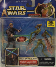 (TAS008159) - Hasbro Star Wars Attack of the Clones  Figure - Anakin Skywalker, , Action Figure, Star Wars, The Angry Spider Vintage Toys & Collectibles Store  - 1