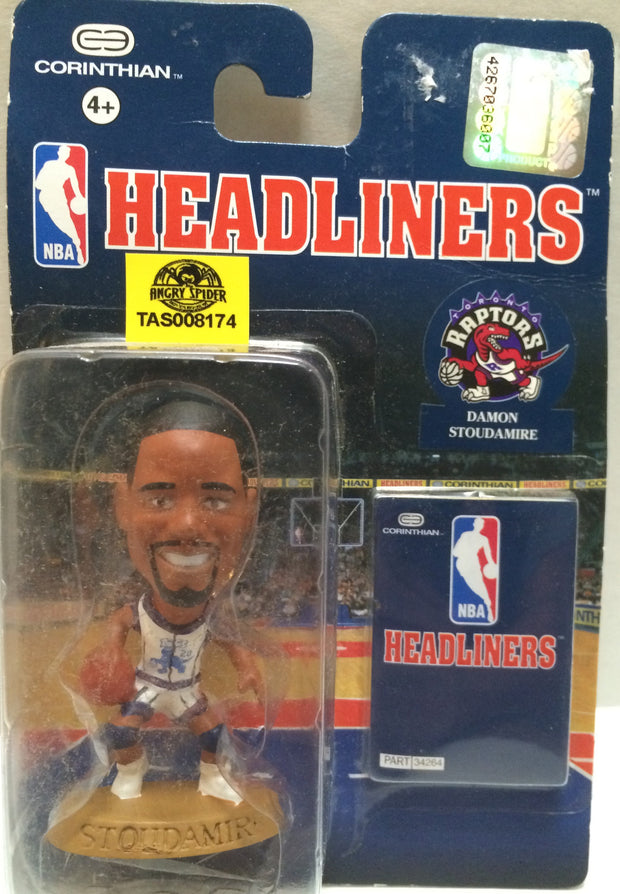 (TAS008174) - Corinthian NBA Headliners Action Figure - Damon Stoudamire, , Action Figure, NBA, The Angry Spider Vintage Toys & Collectibles Store