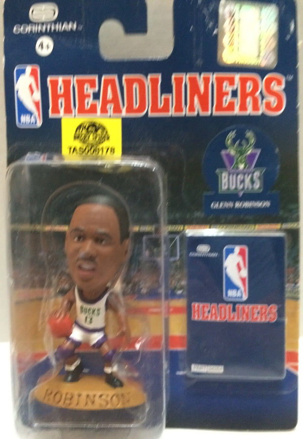 (TAS008178) - Corinthian NBA Headliners Action Figure - Glenn Robinson, , Action Figure, NBA, The Angry Spider Vintage Toys & Collectibles Store