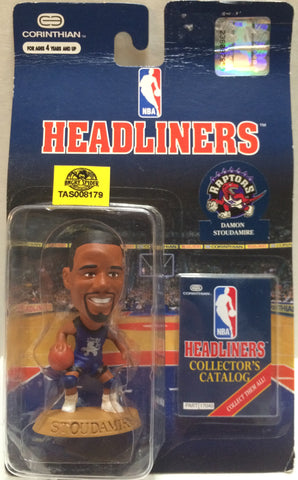 (TAS008179) - Corinthian NBA Headliners Mini Action Figure - Damon Stoudamire, , Action Figure, Corinthian, The Angry Spider Vintage Toys & Collectibles Store