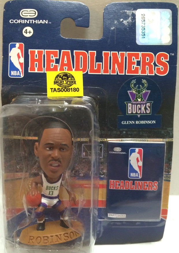 (TAS008180) - NBA Headliners Sports Figure - Glenn Robinson, , Action Figure, NBA, The Angry Spider Vintage Toys & Collectibles Store