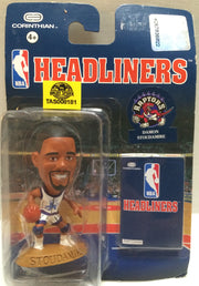 (TAS008181) - Corinthian NBA Headliners Mini Action Figure - Damon Stoudamire, , Action Figure, Corinthian, The Angry Spider Vintage Toys & Collectibles Store