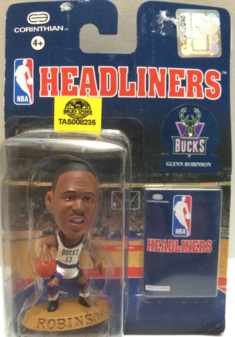 (TAS008235) - Corinthian NBA Headliners Mini Action Figure - Glenn Robinson, , Action Figure, Corinthian, The Angry Spider Vintage Toys & Collectibles Store