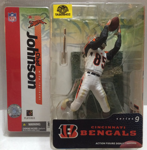 (TAS008432) - McFarlane Sports Figure - Cincinnati Bengals Chad Johnson, , Action Figure, McFarlane Toys, The Angry Spider Vintage Toys & Collectibles Store