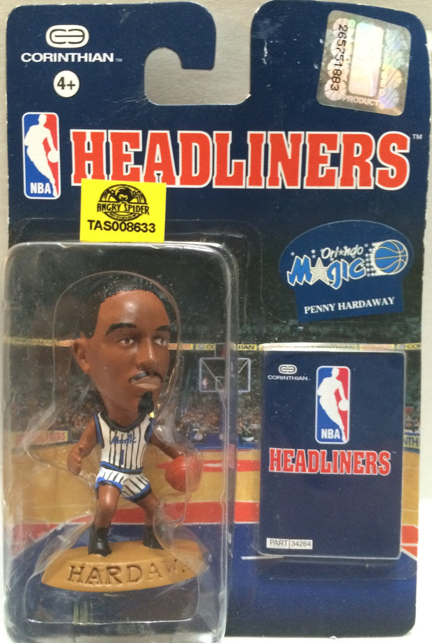 (TAS008633) - NBA Headliners Sports Figure - Penny Hardaway, , Action Figure, NBA, The Angry Spider Vintage Toys & Collectibles Store