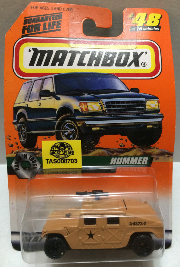 (TAS008703) - Matchbox Racing Car - Hummer, , Trucks & Cars, Matchbox, The Angry Spider Vintage Toys & Collectibles Store