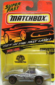 (TAS008704) - Matchbox Racing Car - Corvette T-Top, , Trucks & Cars, Matchbox, The Angry Spider Vintage Toys & Collectibles Store