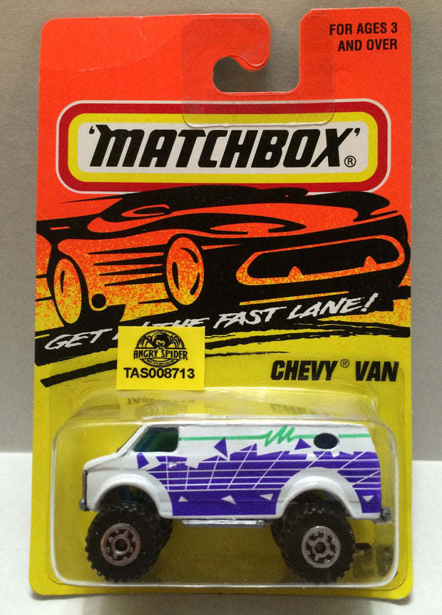 (TAS008713) - Matchbox Racing Car - Chevy Van, , Trucks & Cars, Matchbox, The Angry Spider Vintage Toys & Collectibles Store