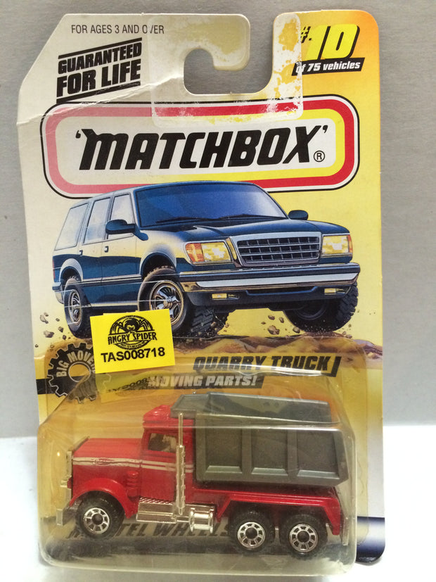 (TAS008718) - Matchbox Racing Car - Quarry Truck, , Trucks & Cars, Matchbox, The Angry Spider Vintage Toys & Collectibles Store