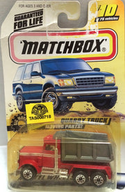 (TAS008707) - Matchbox Racing Car - Quarry Truck, , Trucks & Cars, Matchbox, The Angry Spider Vintage Toys & Collectibles Store