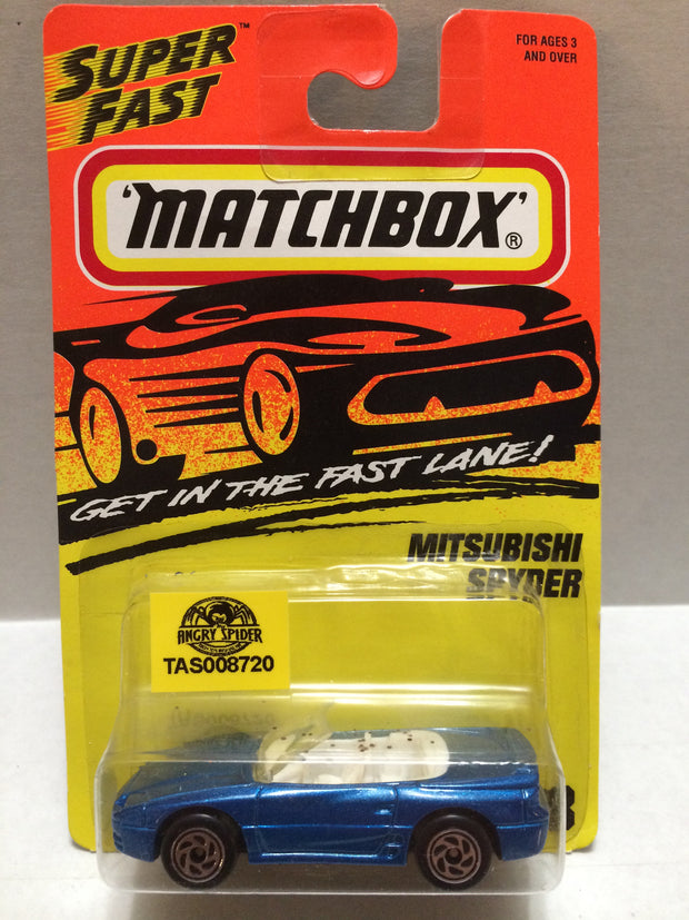 (TAS008720) - Matchbox Racing Car - Mitsubishi Spyder, , Trucks & Cars, Matchbox, The Angry Spider Vintage Toys & Collectibles Store