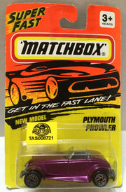 (TAS008721) - Matchbox Racing Car - Plymouth Prowler, , Trucks & Cars, Matchbox, The Angry Spider Vintage Toys & Collectibles Store