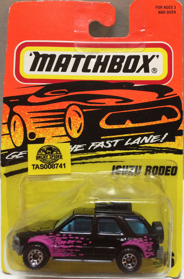(TAS008741) - Matchbox Racing Car - Isuzu Rodeo, , Trucks & Cars, Matchbox, The Angry Spider Vintage Toys & Collectibles Store