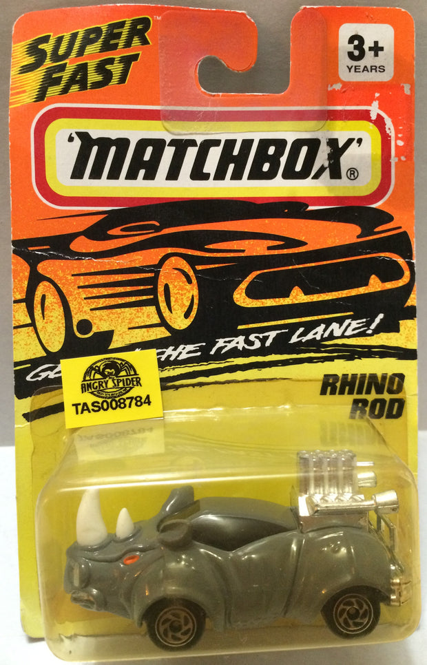 (TAS008784) -  Matchbox Racing Car - Rhino Rod, , Trucks & Cars, Matchbox, The Angry Spider Vintage Toys & Collectibles Store