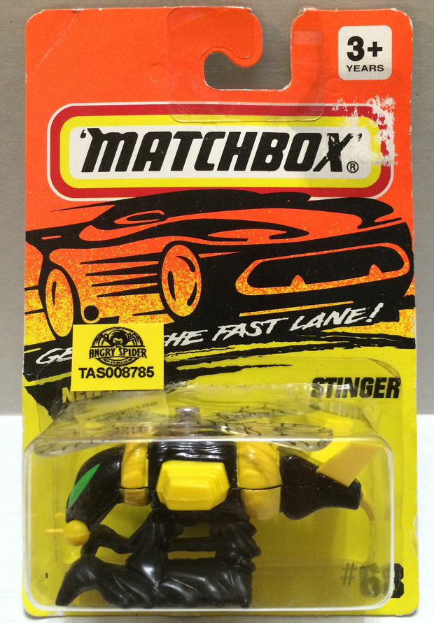 (TAS008785) -  Matchbox Racing Car - Stinger, , Trucks & Cars, Matchbox, The Angry Spider Vintage Toys & Collectibles Store