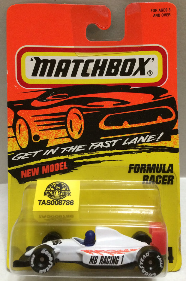 (TAS008786) -  Matchbox Racing Car - Formula Racer, , Trucks & Cars, Matchbox, The Angry Spider Vintage Toys & Collectibles Store