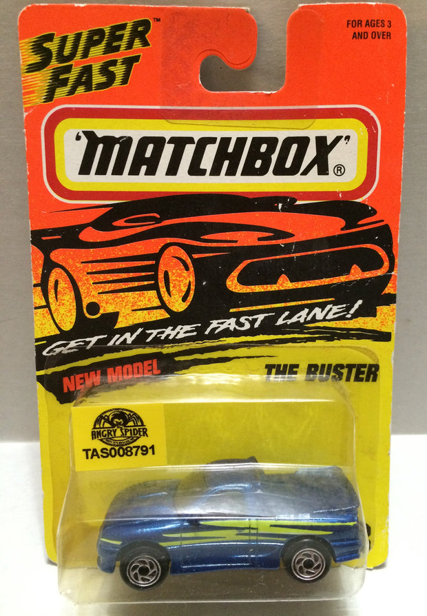 (TAS008791) -  Matchbox Racing Car - The Buster, , Trucks & Cars, Matchbox, The Angry Spider Vintage Toys & Collectibles Store
