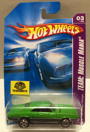 (TAS008818) - Mattel Hot Wheels Racing Stock Car - Dodge Charger, , Trucks & Cars, Hot Wheels, The Angry Spider Vintage Toys & Collectibles Store
