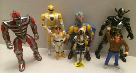 (TAS008862) - Action Figure Lot - Power Rangers, Voltron, G.I. Joe, Spider-man, , Action Figure, Varies, The Angry Spider Vintage Toys & Collectibles Store  - 1