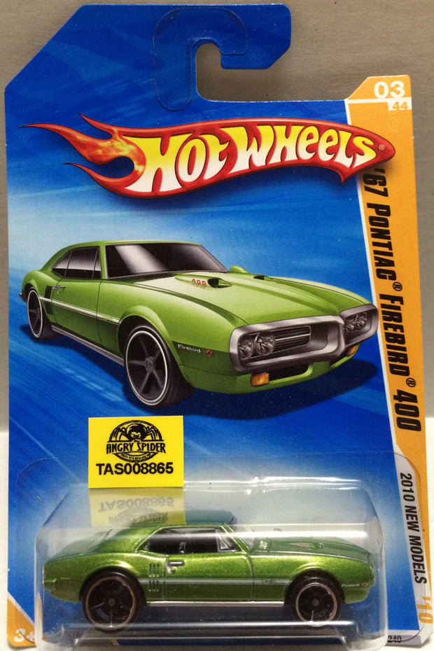 (TAS008865) - Mattel Hot Wheels Racing Stock Car - ';67 Pontiac Firebird 400, , Trucks & Cars, Hot Wheels, The Angry Spider Vintage Toys & Collectibles Store