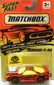 (TAS009475) - Matchbox Die-Cast - Ferrari F-40, , Trucks & Cars, Matchbox, The Angry Spider Vintage Toys & Collectibles Store