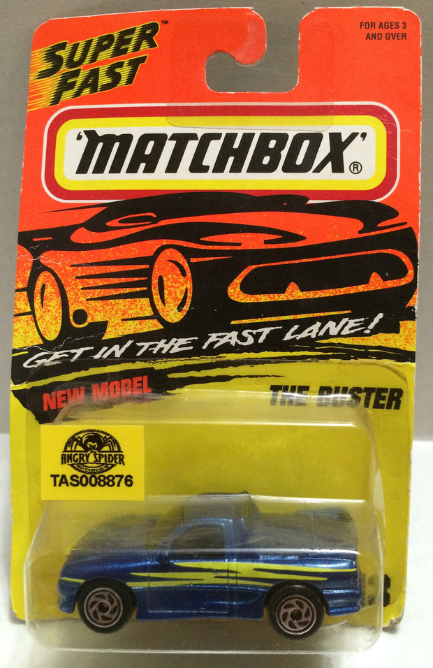 (TAS008876) -  Matchbox Racing Car - The Buster, , Trucks & Cars, Matchbox, The Angry Spider Vintage Toys & Collectibles Store