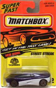 (TAS008882) -  Matchbox Die-Cast Racing Car - Street Streak, , Trucks & Cars, Matchbox, The Angry Spider Vintage Toys & Collectibles Store
