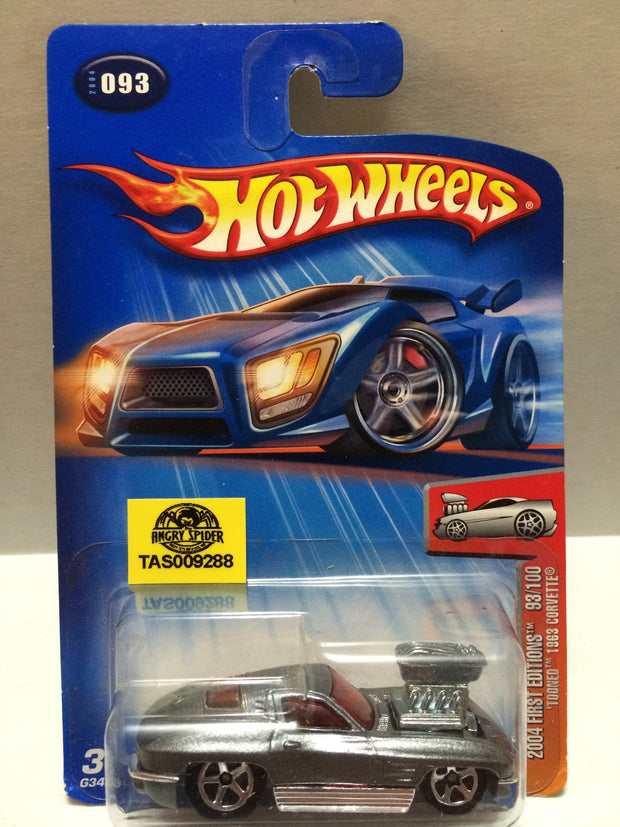 (TAS009288) - Mattel Hot Wheels Racing Stock Car - Corvette, , Trucks & Cars, Hot Wheels, The Angry Spider Vintage Toys & Collectibles Store