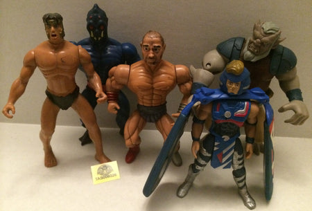 (TAS009326) - Vintage MOTU Remco & Jakks Action Figures, , Action Figure, Varies, The Angry Spider Vintage Toys & Collectibles Store