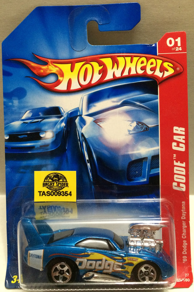 (TAS009354) - Hot Wheels Die-Cast '69 Dodge Charger Daytona Code Car, , Trucks & Cars, Hot Wheels, The Angry Spider Vintage Toys & Collectibles Store