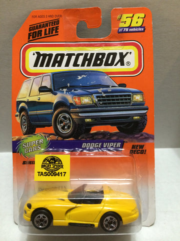 (TAS009417) - Matchbox - Dodge Viper #56 of 75, , Trucks & Cars, Matchbox, The Angry Spider Vintage Toys & Collectibles Store