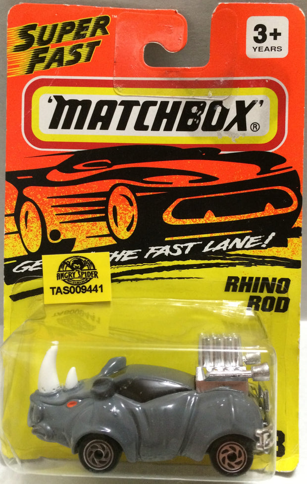 (TAS009441) - Matchbox Die-Cast Racing Stock Car - Rhino Rod, , Trucks & Cars, Matchbox, The Angry Spider Vintage Toys & Collectibles Store