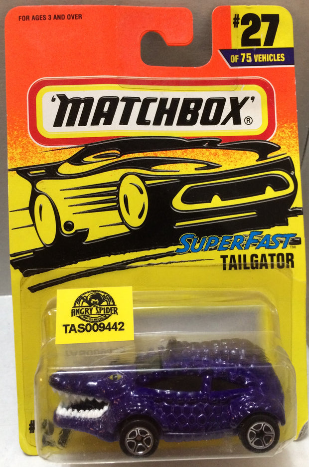 (TAS009442) - Matchbox Die-Cast Racing Stock Car - Tailgator #27, , Trucks & Cars, Matchbox, The Angry Spider Vintage Toys & Collectibles Store