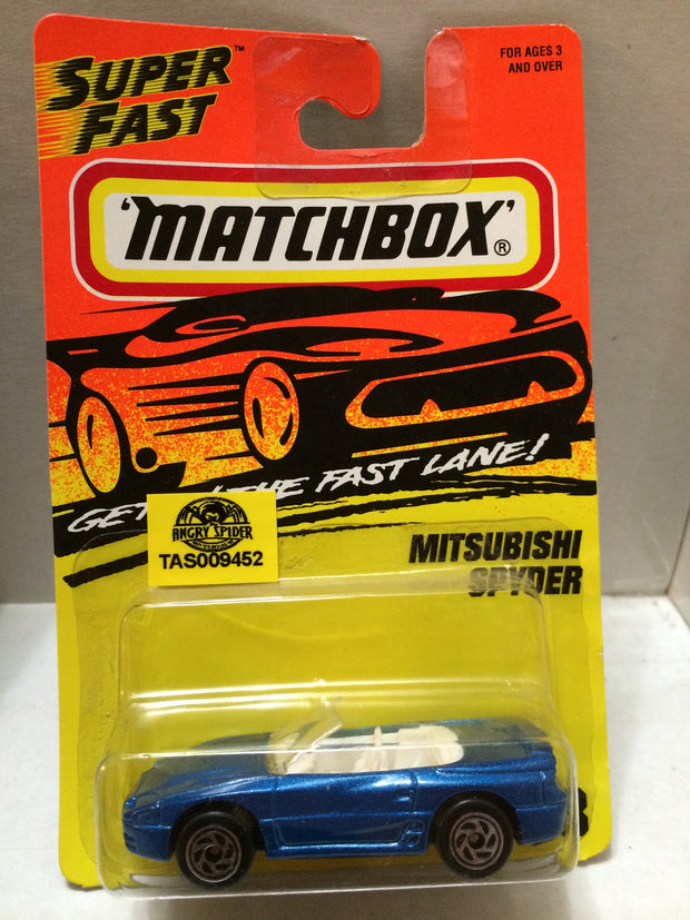 (TAS009452) - Matchbox Racing Stock Car - M. Spyder, , Trucks & Cars, Matchbox, The Angry Spider Vintage Toys & Collectibles Store